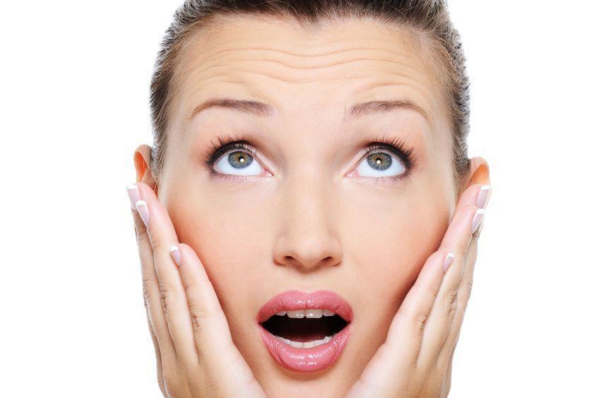 Симптомы болезней - Выраженные мимические морщины